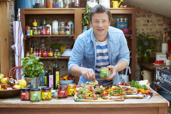 Jamie Oliver Italian and Mediterranean Ambient Food Ranges