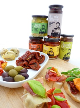 Antipasti and Olives Jamie Oliver Range
